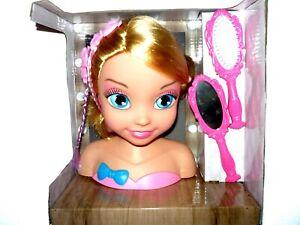 Kinder Frisierpuppe Puppenkopf Beauty NEU&OVP Schminkkopf Frisierkopf