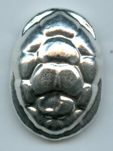 Turtle Shell 50 Gram 999 Silver Poured Bar Bullion Yeagers YPS JK622