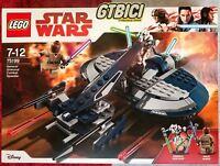LEGO STAR WARS  ``GENERAL GRIEVOUS' COMBAT SPEEDER´´ Ref 75199  NUEVO A ESTRENAR