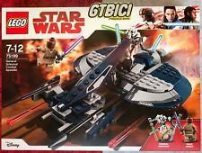 LEGO STAR WARS ``GENERAL GRIEVOUS' COMBAT SPEEDER´´ Ref 75199 NEW BRAND NEW