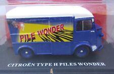 Ixo 1/43 - Tour de France véhicule publicitaire - Citroen Hy piles Wonder