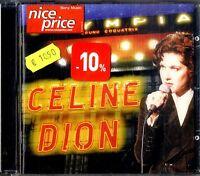 CELINE DION A L'Olympia CD Ottime Condizioni