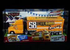New OCTANE GAIN 58 HAULER - #4 Disney Pixar CARS Semi Truck OPENS Race-O-Rama