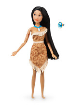 NUOVO Ufficiale Disney POCAHONTAS Bambola classico 30cm con Anello