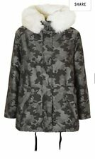 Topshop Zip Waist Length Polyester Coats & Jackets for Women