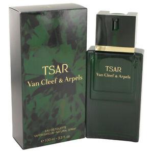 TSAR Van Cleef & Arpels 100ml EDT Spray Mens Fragrance UnSealed Box Genuine Rare