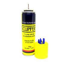 Clipper 7X Mini Butane 2.75oz  Fuel Premium Univerasl Gas Lighter Refill