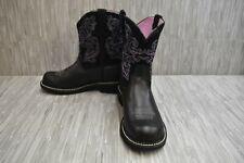 Ariat Fatbaby II 10004729 Western Boots, Women's Size 11B - Black