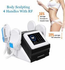 EMSlim W/ RF Body Contouting EMS Build Muscle Machine Body Sculpting Fat Burning
