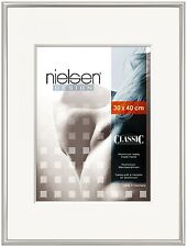 NIELSEN Classic 40x50cm Silver Picture Frame