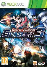 DYNASTY WARRIORS GUNDAM 3 - XBOX 360 -  NEW AND SEALED - Super FAST Delivery