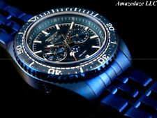 NEW Invicta Men 42mm BLUE LABEL Prodiver Swiss Ronda Day/Date Stainless St.Watch