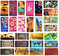 "Australian Souvenir Beach Towel Australia 100% Cotton 30""x60"" Bath Towels"