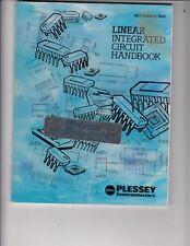 Plessey Semiconductors Linear Integrated Circuit (Ic) Handbook Data Book 1985