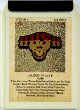 HUSH  Aloud 'N' Live  8 TRACK CARTRIDGE TAPE   DIFFICULT TO FIND NOW Oz Issue