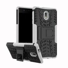 Carcasa híbrida 2 piezas EXTERIOR BLANCO Funda para Nokia 2