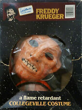 Freddy Krueger Nightmare On Elm Street Horror Collegeville Vintage Costume Rare