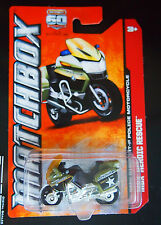 Matchbox 60th Anniversary Heroric Rescue Bmw R1200 Tr-P Police Motorcycle