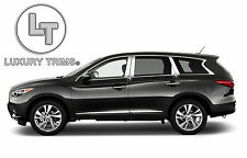 For Infiniti JX QX60 Stainless Chrome Pillar Posts by Luxury Trims 2013-2020 8pc