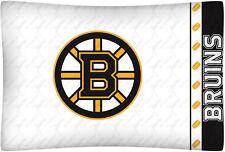 NEW Boston BRUINS NHL Standard Knit Pillowcase