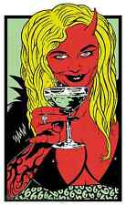 Cocktail STICKER Decal Kozik Poster Artist KZ21