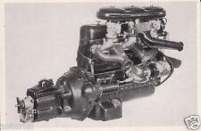 Mercedes Benz 300 S * 1953 * Motor - Darstellung * orig. Sammelbild *
