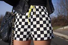 Zara Imprimé Carreaux Short Taille M Ref 2253 140