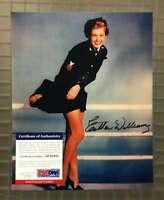Esther Williams Psa Dna Coa Hand Signed 8x10 Photo Autograph