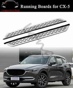 Running Board fits for Mazda CX5 CX-5 2017-2022 Side Step Nerf Bars Protector