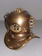 Deep Sea Divers Miniature Diving Helmet Decorative Vintage Brass Replica