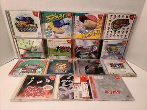 Sega Dreamcast Games Lot