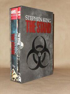 "Marvel Omnibus Stephen King ""The Stand"" 2-volume set in slip-case, fine"