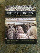 Judicial Process: Law, Courts, and Politics in the United States David 5th editi
