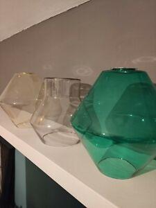 x3 Made.com Glass Light Shades
