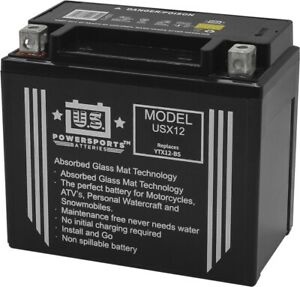 US Powersports Battery For Suzuki VZ 800 Marauder 2002