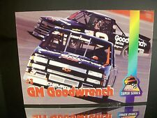 Rare Mike Skinner #3 GM Goodwrench Finish Line Racing Super Series 1995 Card #36