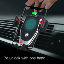 10W QI Wireless Fast Charger Car Mount Holder Stand Phone Charging Hot Sale