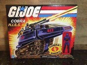 GI JOE RETRO COBRA HISS III WITH RIP IT WALMART EXCLUSIVE!