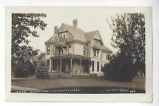 McPherson, Kansas, Dormitory, Walden College RPPC