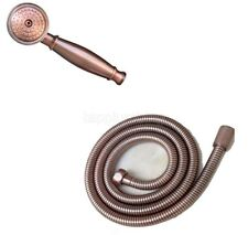 Antique Red Copper Hand Held Shower Head with 1.5m Hose  tsx005