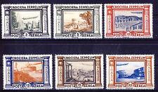 ITALIEN Luftpost 1933 Sas. 45-50,MiNr. 439-44 (*) Crociera Zeppelin REPRINT
