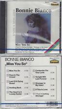 CD--NM-SEALED-BONNIE BIANCO -- MISS YOU SO -