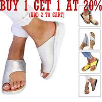 Women Comfy Platform Sandal Shoes teacalgary