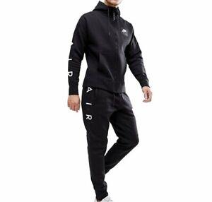 Nike Air Men's Sportswear Club Zipped Hoody and Slim Joggers Tracksuit 886048