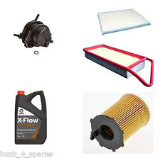 PEUGEOT BIPPER 1.4 HDI SERVICE KIT OIL AIR FUEL CABIN FILTERS 5 LITRES XFLOW