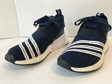 Adidas Originals Mountaineering NMD R2 Primeknit Navy Blue White BB3072 Sz 8