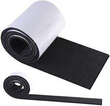 2 x Rotolo di feltro adesivo in materiale ecologico, 1) 100x10 cm + 1) 100x2 cm