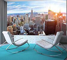 Poster New York Penthouse Skyline Photo Wallpaper Manhattan Panorama View mural
