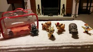Disney Store Lion Guard Bath Toy Chunky Figures set of 6 Characters