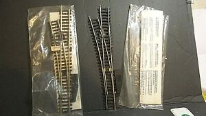 VINTAGE ROCO HO SCALE SWITCH TRACK LEFT TURN